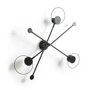 Applique métal PRAGUA Noir Taille Taille Unique