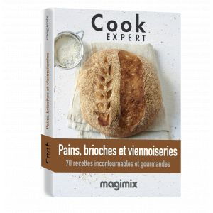 Magimix Livre Pains brioches viennoiserie Cook Expert