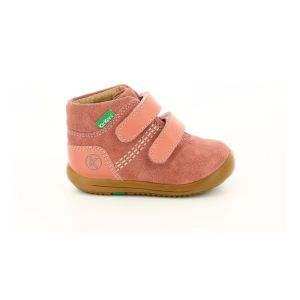Kickers Kira, Bottillon Mixte, Rose, 24