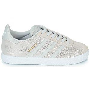 Adidas Baskets basses enfant GAZELLE C blanc - Taille 28,30
