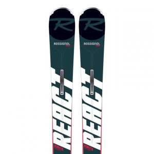 Rossignol REACT 6 COMPACT + XPRESS 11 GW B83 BLACK HOT RED 21 [Taille 163]