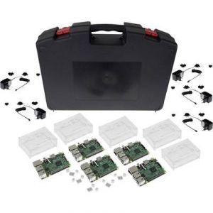 Raspberry pi Set de démarrage Raspberry Pi 3 Modèle B 1 Go sans système d'exploitation avec boîtier