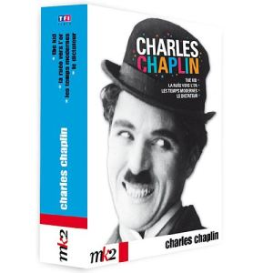 Coffret Charlot, le meilleur - La ruée vers l'or + Les temps modernes + Le dictateur + The Kid