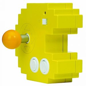Bandai Pac-Man-Console Connect & Play (12 Jeux d'arcade rétro intégrés), 38886, Jaune