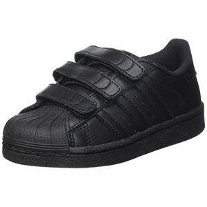 Adidas Superstar Foundation, Baskets Mixte Enfant, Noir Core Black, 31 EU