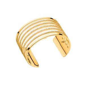 Les Georgettes Bracelet Parallèles Or Large