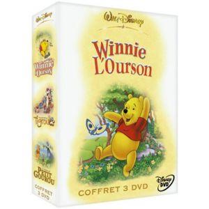 Coffret Winnie l'ourson 3 DVD : Les aventures de Winnie l'ourson / Tigrou / Petit Gourou