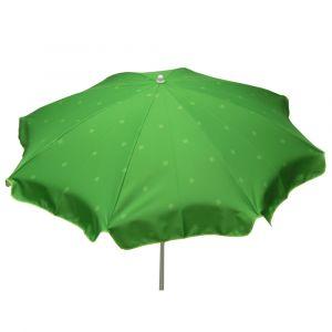 Jardin prive Parasol rond SOLEA Vert