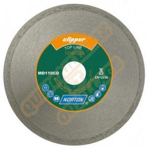 Norton clipper Disque diamant MD 110 CD Ø 230 mm Alésage 22.23 - 70184625946
