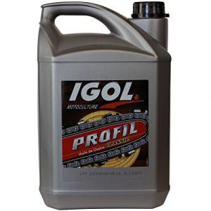GT Garden Huile de chaîne filante IGOL pour tronçonneuse et élagueuse - 5 litres -
