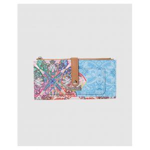 Desigual Portefeuille Mexican Cards à imprimé fantaisie Multicolore