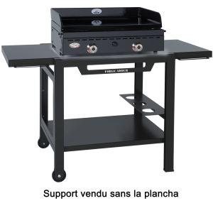 Forgeadour TRUF K - Table roulante en fer pour plancha 450/500 et 750