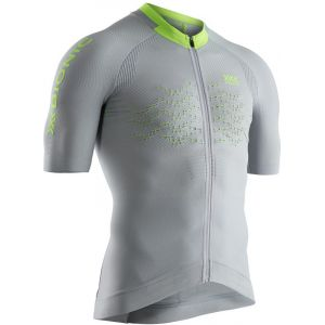 X-Bionic The Trick G2 Maillot manches courtes Homme, dolomite grey/phyton yellow S Maillots manches courtes sport