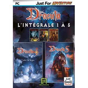 Dracula : l'intégrale 1 + 2 + 3 + 4 + 5 + l'Héritage du Sang [PC]