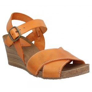 Kickers Salambo cuir Femme-38-Orange
