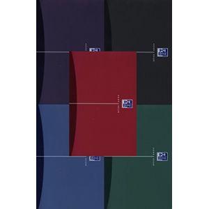 Oxford 100101300 - Cahier Urban Mix rel. intégrale A5 180 pages 90g/m², ligné 7mm + marge