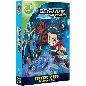 Beyblade Burst Vol.1&Vol.2 coffret 2 DVD