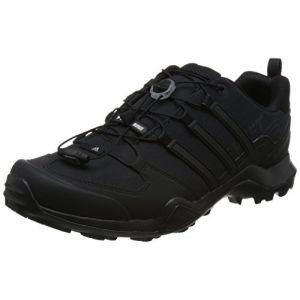 Adidas Terrex Swift R2, Chaussures de Randonnée Basses Homme, Noir (Negbas 000), 45 1/3 EU