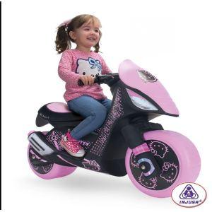 Injusa Moto électrique Hello Kitty