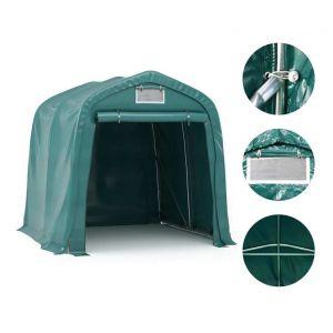 VidaXL Tente de garage PVC 1,6 x 2,4 m Vert