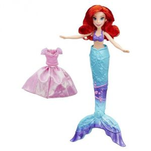 Hasbro Poupée Ariel Splash Surprise Disney Princesses 30 cm