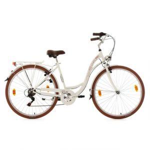 KS Cycling Vélo Pour Dame 28'' Eden Blanc Tc 48 Cm