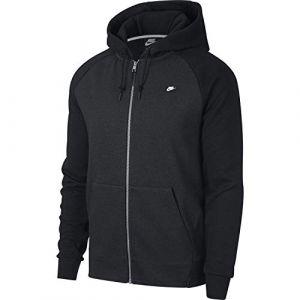 Nike Sweat à capuche entièrement zippé Sportswear Optic pour Homme - Noir - Taille L