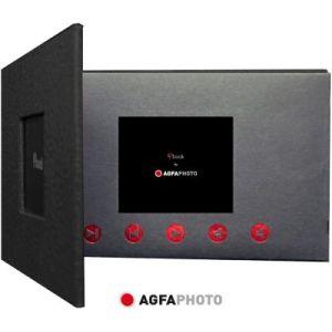 AgfaPhoto Cadre photo numérique PHIBOOK 2.4 NOIR