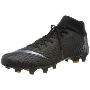 Nike Mercurial Superfly Vi Academy Fg/mg - Black / Black - Taille EU 45