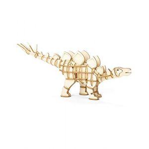 Kikkerland Puzzle 3D en bois Stegosaure