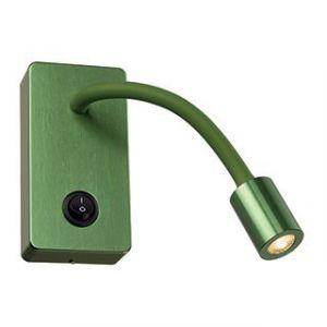 SLV Applique liseuse verte avec interrupteur