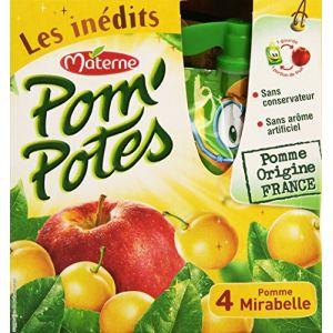 Materne Pom'Potes Les Inédits Pomme-Mirabelle L'Étui 360 g