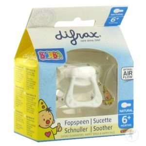 Difrax Sucette Natural Bumba 6+ Mois 1 pc(s) 8711736571185