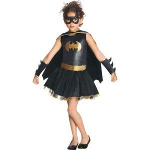 Rubie's Déguisement Batgirl robe avec tutu enfant (5-7 ans)