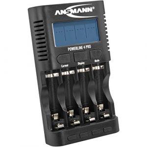 Ansmann Powerline 4 Pro - Chargeur AAA et AA