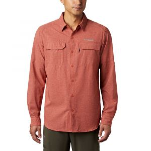 Columbia Irico Chemise manches longues Homme, carnelian red XL T-shirts techniques
