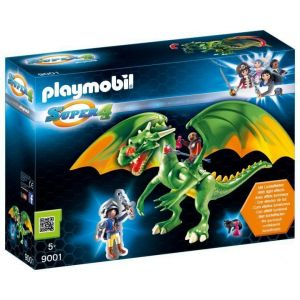 Playmobil 9001 Super 4 - Dragon Médiévalia avec Alex