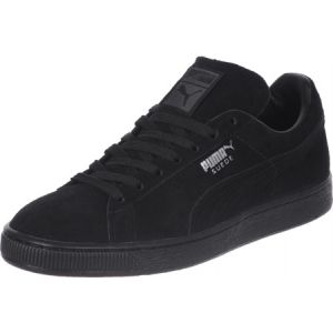 Puma Suede Classic+ - Baskets mode - Mixte Adulte - Noir (Black/Dark Shadow) - 40 EU