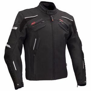 Bering Blouson cuir Hanson noir mat - 4XL