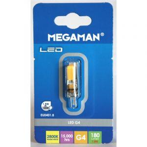 Megaman AMPOULE CAPSULE LED G4 SILICON 1.8W 180LM 2.8K