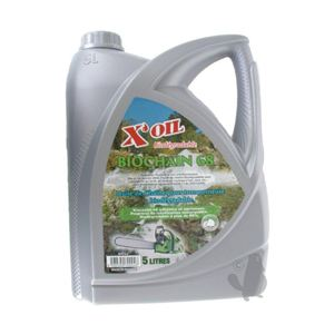 X'Oil Huile de chaine Biodegradable pour tronçonneuse 5L
