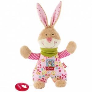 Sigikid Peluche musicale Lapin Bungee Bunny