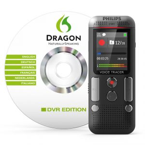 Philips DVT2700 - Dictaphone numérique + Dragon Naturally Speaking DVR Editio