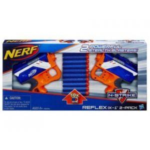 Hasbro Nerf 2 pistolets Reflex IX-1 N-Strike