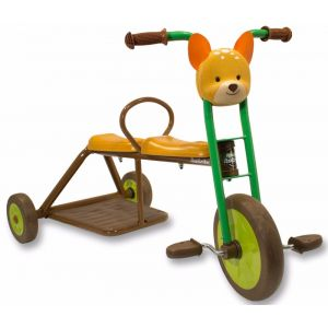 Italtrike Tricycle 2 places cerf l'école Forestiere