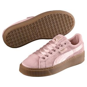 Puma Basket Platform Vs W Lo Sneaker chaussures rose rose 40,0 EU