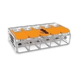 Wago Mini-borne d'installation universelle 5 conducteurs Section 0,5 à 6mm2