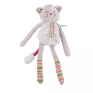 Moulin roty Hochet Chat gris Les Pachats