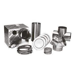 Isotip Joncoux Kit distribution d'air chaud 4 bouches