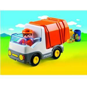 Playmobil 6774 - 1.2.3 : Camion poubelle